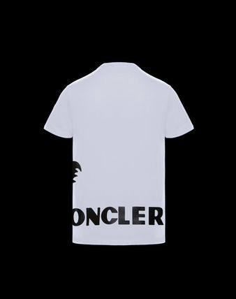 MONCLER GRENOBLE Crew Neck Short Sleeves Logo Crew Neck T-Shirts