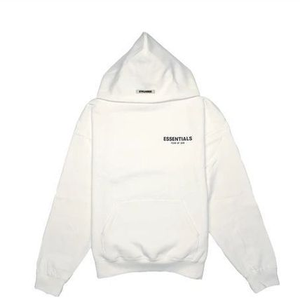 FEAR OF GOD Hoodies Pullovers Unisex Street Style Long Sleeves Plain Cotton 2