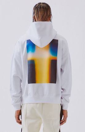 FEAR OF GOD ESSENTIALS Pullovers Unisex Street Style Long Sleeves Plain Cotton