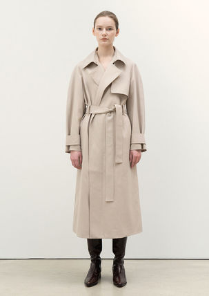 Casual Style Midi Office Style Formal Style  Trench Coats