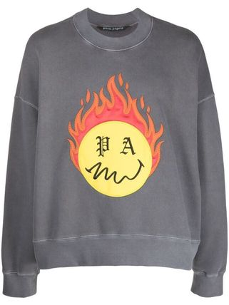 Palm Angels Street Style Sweatshirts