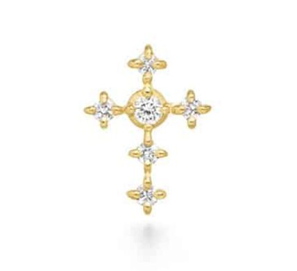 Casual Style Rosary 18K Gold Office Style Elegant Style