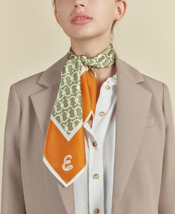 CAFUNE Silk Chain Office Style Elegant Style