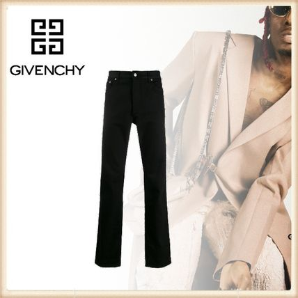 GIVENCHY More Jeans Street Style Logo Jeans