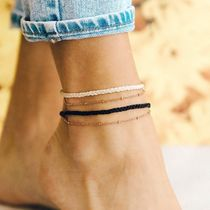 Ron Herman Casual Style Unisex Street Style Chain Anklets