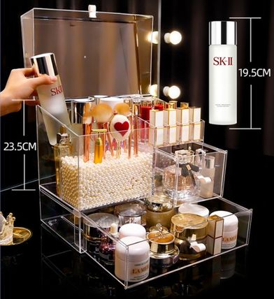 Make-up Organizer Clear Furniture Kitchen & Dining Room
