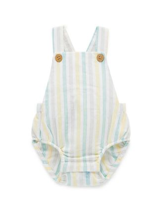 Organic Cotton Baby Boy Bodysuits & Rompers