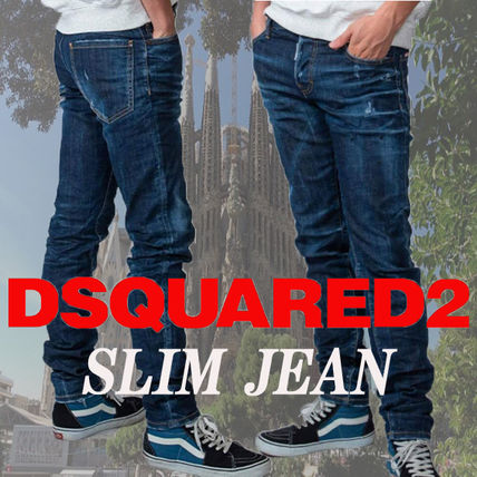 D SQUARED2 More Jeans Tapered Pants Denim Street Style Plain Jeans