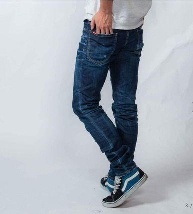 D SQUARED2 More Jeans Tapered Pants Denim Street Style Plain Jeans 3