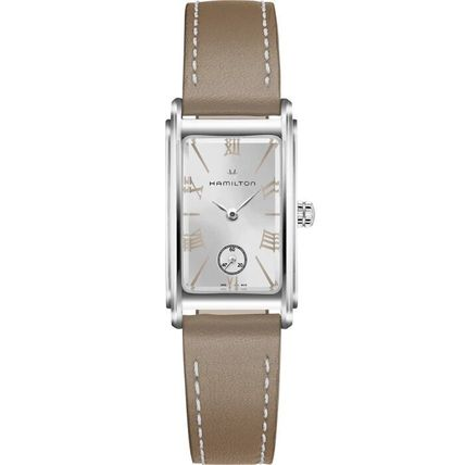 Leather Square Quartz Watches Elegant Style Formal Style