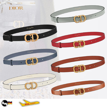 Christian Dior Leather Belts