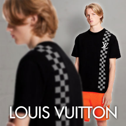 Louis Vuitton DAMIER Damier Stripe Jacquard T-Shirt