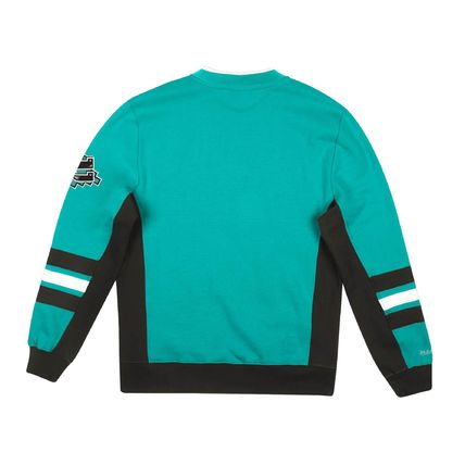 Crew Neck Pullovers Sweat Street Style Long Sleeves Logo