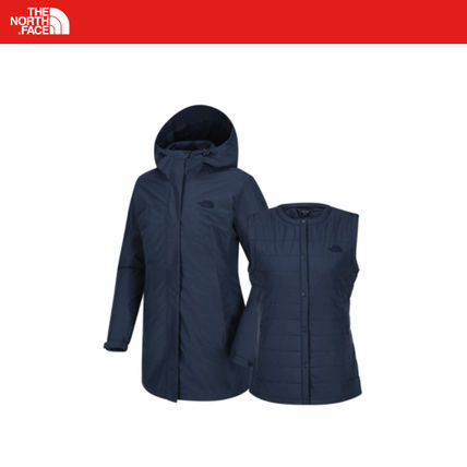THE NORTH FACE Casual Style Street Style Logo Coats