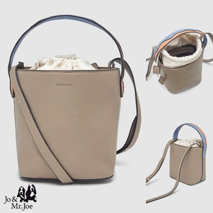 Casual Style 2WAY Plain Office Style Elegant Style Crossbody