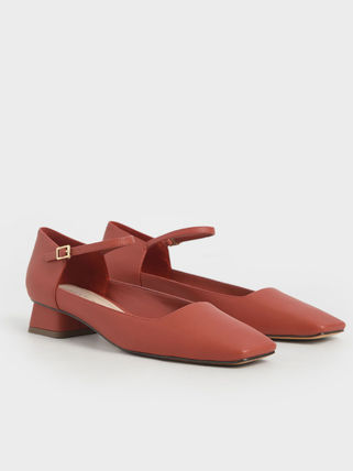 Charles&Keith Wedge Collaboration Wedge Pumps & Mules