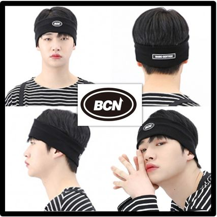 BASIC COTTON Unisex Street Style Logo Accessories