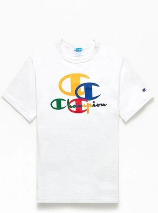 Logo Collaboration Cotton Street Style T-Shirts