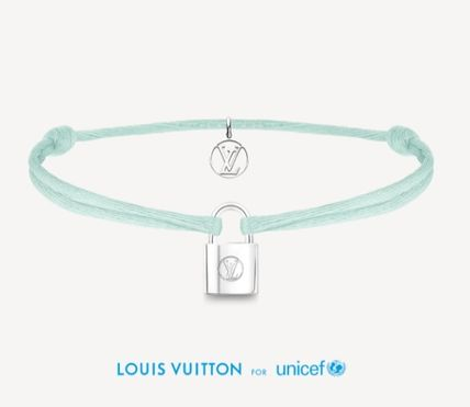 Louis Vuitton LOCKIT Costume Jewelry Casual Style Unisex Street Style Party Style