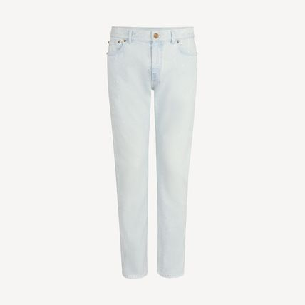 Louis Vuitton More Jeans Perforated Slim Jeans 2