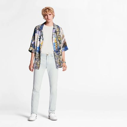 Louis Vuitton More Jeans Perforated Slim Jeans 3