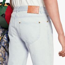 Louis Vuitton More Jeans Perforated Slim Jeans 6