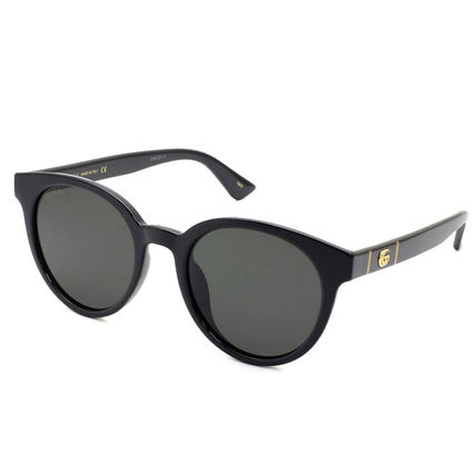 GUCCI Unisex Street Style Round Sunglasses