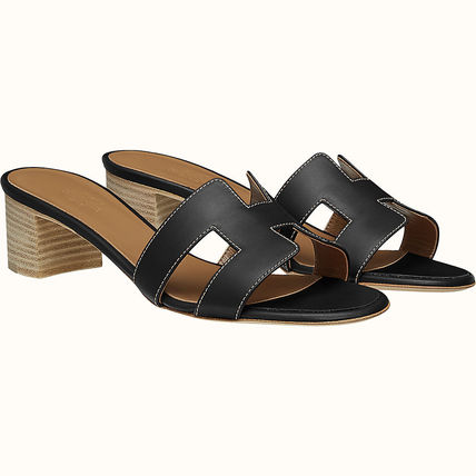 HERMES Oasis Leather Sandals