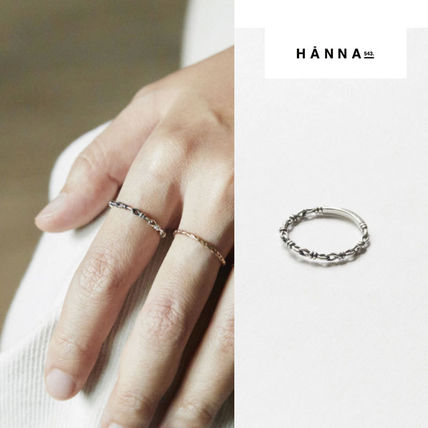 HANNA543 Rings Casual Style Unisex Street Style Rings