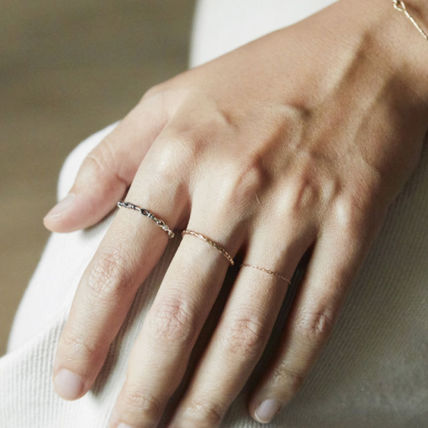 HANNA543 Rings Casual Style Unisex Street Style Rings 3
