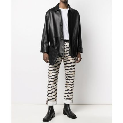 Dries Van Noten More Jeans Printed Pants Zebra Patterns Street Style Plain Cotton Logo 2