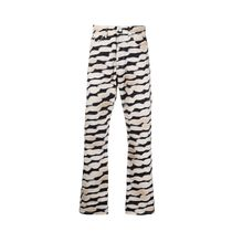 Dries Van Noten More Jeans Printed Pants Zebra Patterns Street Style Plain Cotton Logo 6