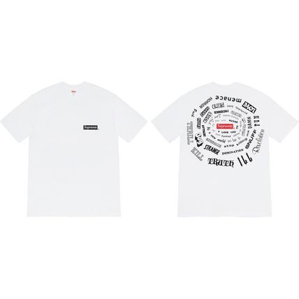 Supreme More T-Shirts Unisex Street Style Collaboration T-Shirts