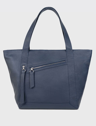 Casual Style A4 2WAY Plain Office Style Elegant Style Totes