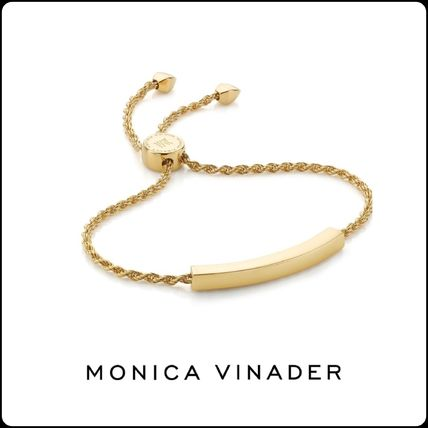 Monica Vinader Fine Jewelry Costume Jewelry Casual Style Unisex Street Style Chain