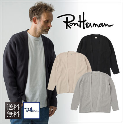 Ron Herman Surf Style Plain Cardigans