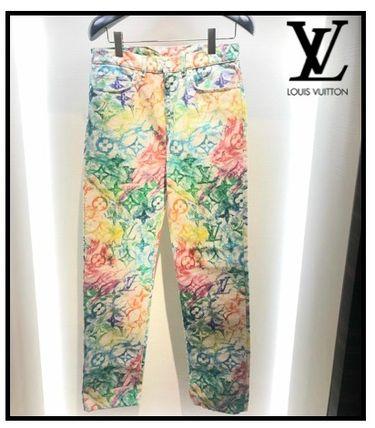 Louis Vuitton More Jeans Lv Pastel Regular Denim Pants