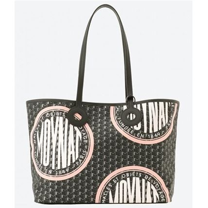 Canvas Casual Style Unisex A4 Totes