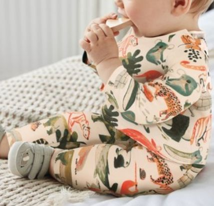 NEXT Organic Cotton Co-ord Baby Boy Tops
