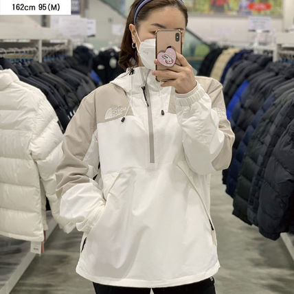 THE NORTH FACE WHITE LABEL Unisex Street Style Plain Medium Logo Hoodies & Sweatshirts