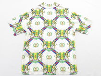 GUCCI Silk Other Animal Patterns Short Sleeves
