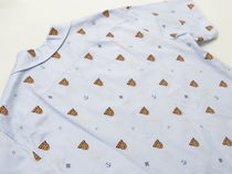 GUCCI Shirts Button-down Other Animal Patterns Cotton Short Sleeves 4