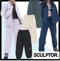 SCULPTOR Casual Style Street Style Pants