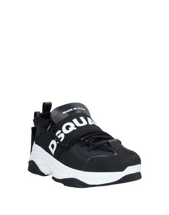 D SQUARED2 Street Style Leather Logo Sneakers