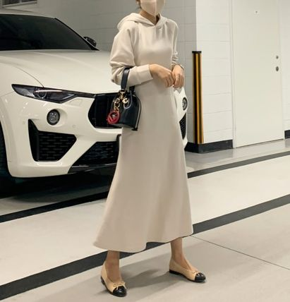 Formal Style  Bridal Casual Style Sweat Flared Long Sleeves