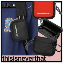 thisisneverthat Unisex Street Style Coin Cases