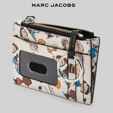 MARC JACOBS Box Bag Collaboration Leather Long Wallet  Small Wallet Logo