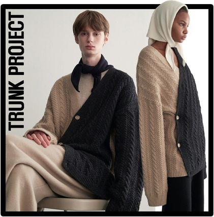 TRUNK PROJECT Unisex Street Style Cardigans