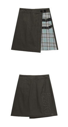 Other Plaid Patterns Street Style Mini Skirts