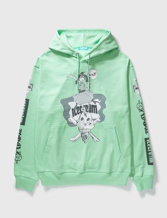 Billionaire Boys Club Hoodies Pullovers Unisex Street Style Collaboration Long Sleeves 2
